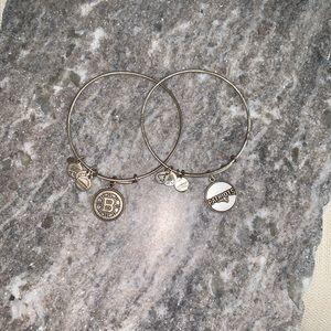 🏈🏒ALEX AND ANI Patriots & Bruins bracelets 🏈🏒